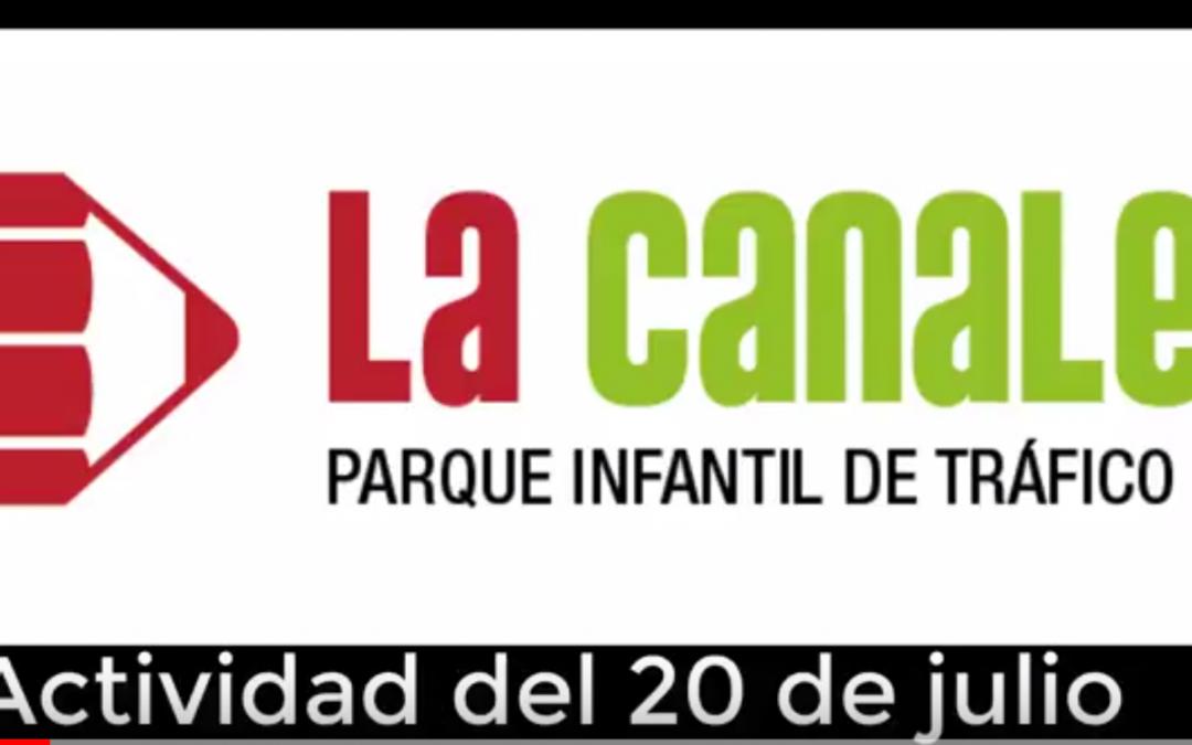 Actividad del viernes: Parque Infantil de Tráfico de la Canaleta (Mislata)